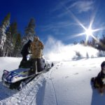 Snowmakers in action!