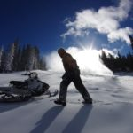 Snowmakers at work